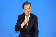 Moon calls for swift tracing of visitors to virus-linked church, hospital