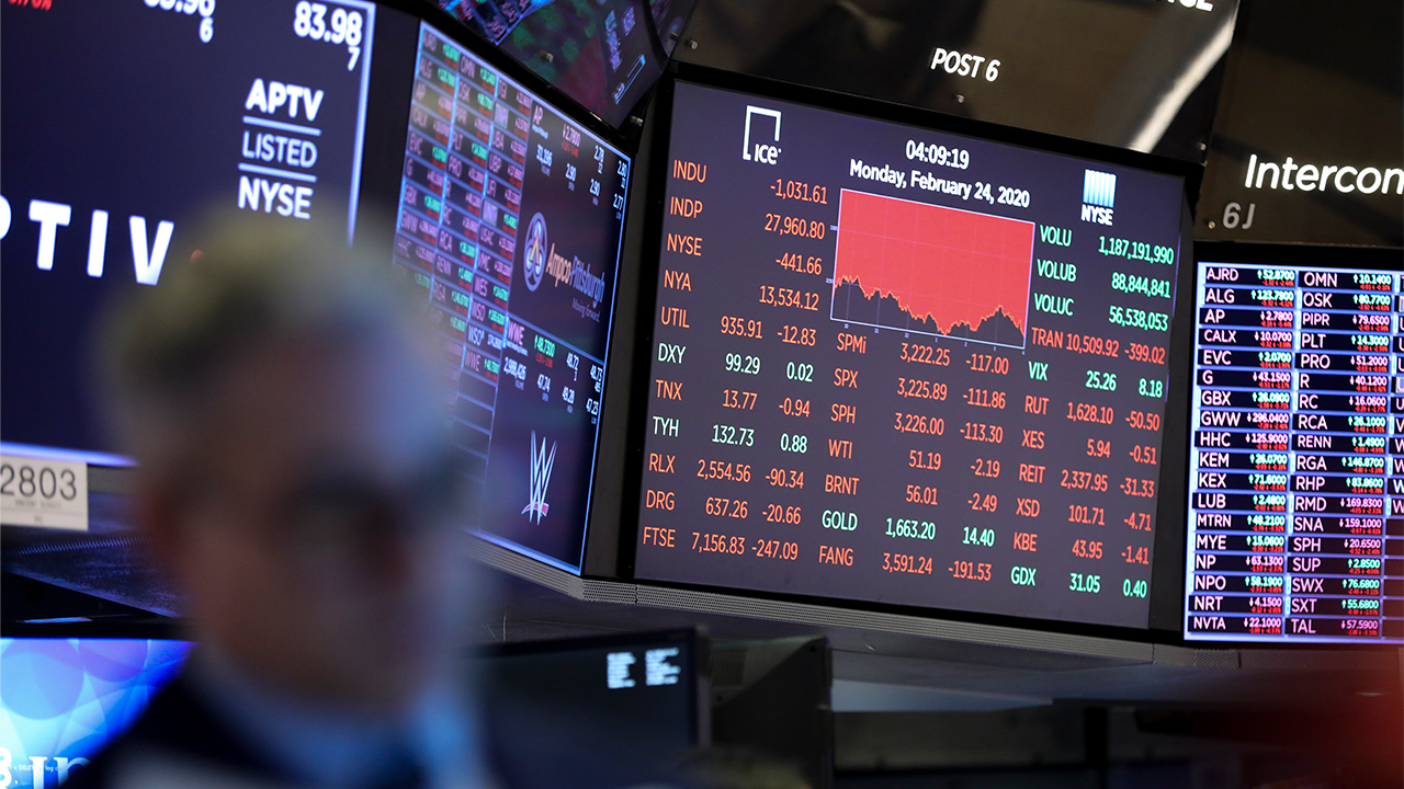 Bloody Monday on Wall Street as COVID-19 fears jump