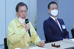 President Moon says this week must see turning point in virus containment