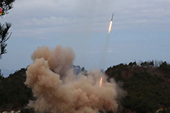 N. Korea fired from super-large multiple rocket launcher on Monday: KCNA