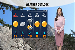 Milder temperatures, rain to fall on southern regions on Saturday