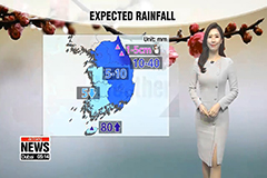 Rainy Tuesday, big drop in afternoon readings