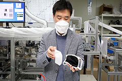 S. Korean researchers develop washable mask filters using nanofibers