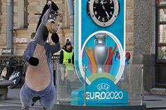 Euro 2020 postponed one year a