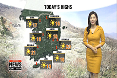 Warm and sunny day ahead