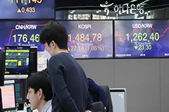 S. Korean stocks rebound following Wall Street gains and currency swap