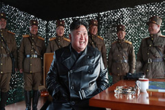Kim Jong-un attends test of ne
