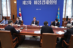 President Moon unveils US$ 79 billion dollar relief package for local companies