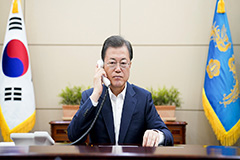 President Moon to share S. Kor