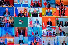 G20 leaders vow to present united front in tackling COVID-19