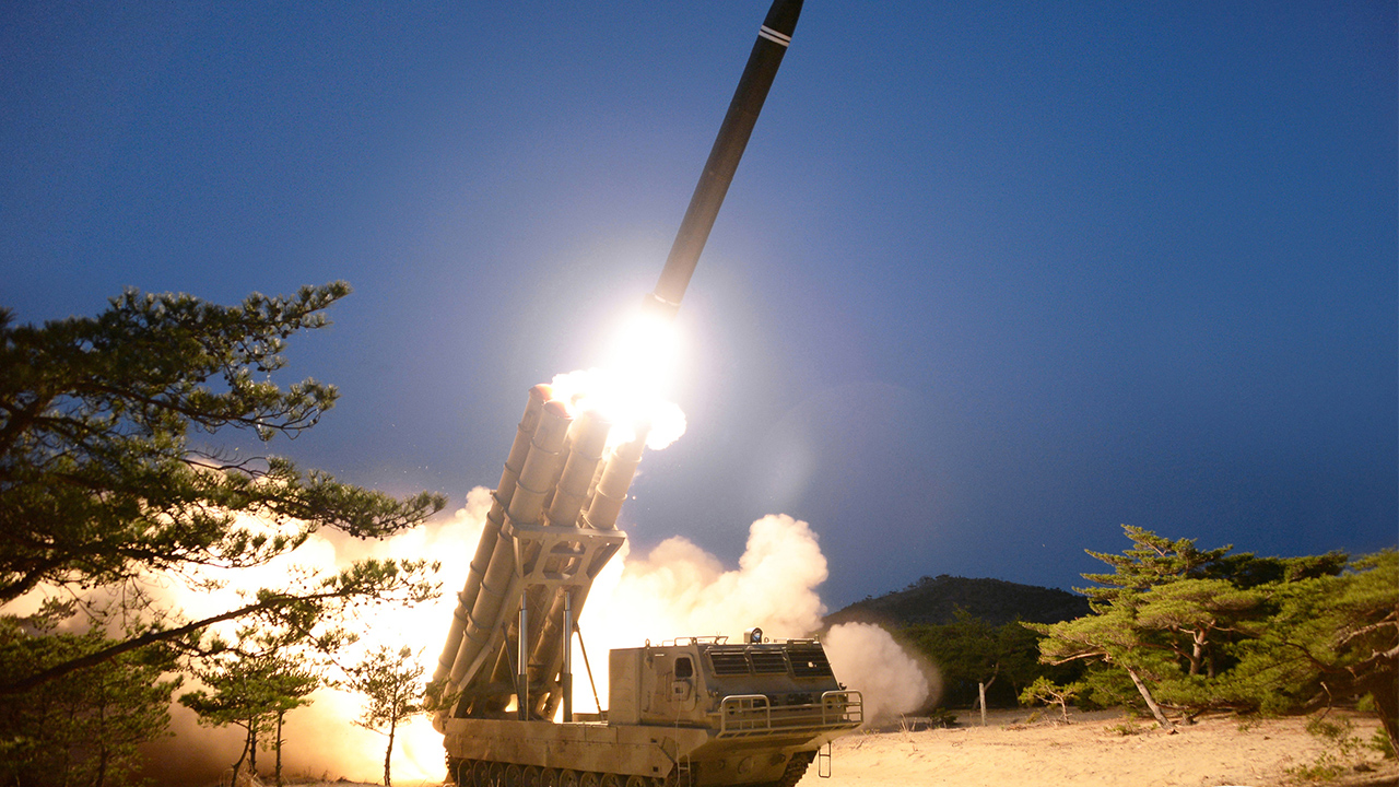 N. Korea touts test-firing of 'super-large' rocket launchers; no mention of Kim Jong-un
