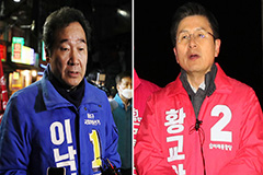 Candidates running in S. Korea