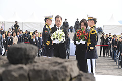 President Moon vows support fo
