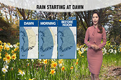 Rain expected nationwide