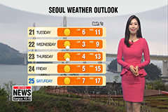 Cooler weather after Sunday's rain