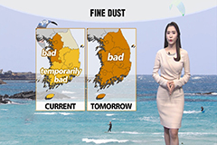 Strong wind advisories extended, fine dust levels to rise