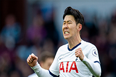 Son Heung-min's goal against Burnley voted as Goal of the Year by the Athletic