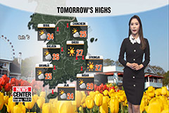 Clear skies but dry nationwide... early summer-like weather