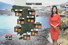 Sunny and warm conditions to start new week