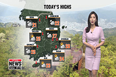 Warmer daytime highs, more clouds today