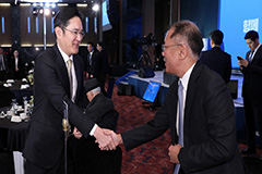 Samsung, Hyundai Heirs Discuss Electric Vehicle Cooperation