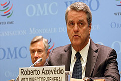 WTO chief Roberto Azevedo resigns from post