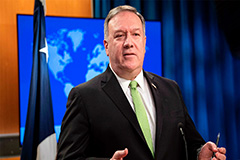 China responds to Pompeo's 'brutal, authoritarian' remark
