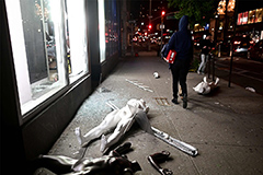 New York City extends curfew after mass looting and violence