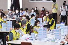 S. Korea conducts COVID-19 simulation training for hospital bed sharing in Seoul, surrounding area