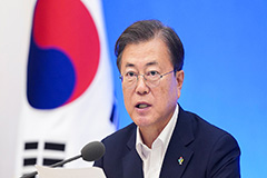 Moon tells officials to reconsider plans for KCDC research arm