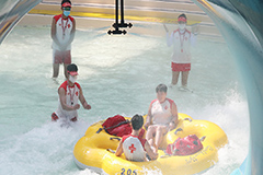 S. Korea's water parks reopen with precautions in place