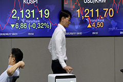 S. Korean stocks slides upon opening amid military confrontation
