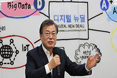 President Moon says Digital New Deal will create jobs in IT