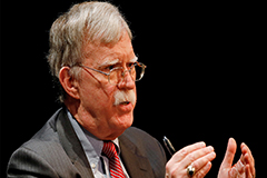 Ex-U.S. Nat'l Security Advisor John Bolton criticizes Seoul's efforts to facilitate N. Korea-U.S. talks