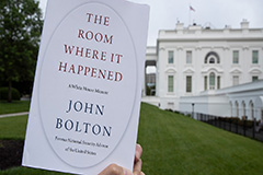 Bolton's controversial memoir 'The Room Where It Happened' released Tuesday