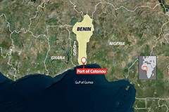 Five South Korean crewmen kidnapped by unidentified assailants in waters off Republic of Benin