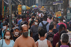 Brazil reports around 40,000 daily COVID-19 cases; 1.2 mil. infected in total