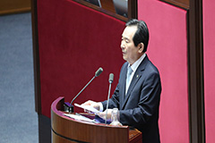 PM Chung Sye-kyun delivers policy speech for passage of largest COVID-19 extra-budget