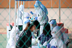 S. Korea reports 63 new COVID-19 cases on Friday, cluster infections outside Seoul