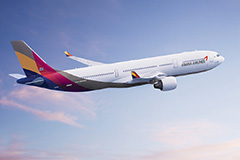 Asiana Airlines to resume flights to Nanjing, China