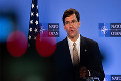 U.S. defense chief Mark Esper
