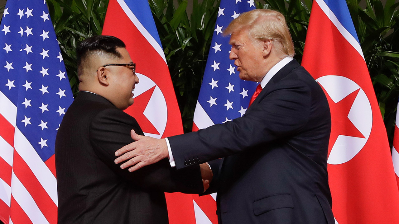 Trump says he's open to another summit with Kim