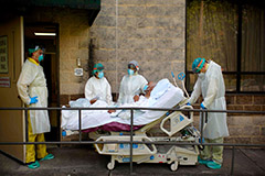Impending shortage of ICU beds in U.S. over COVID-19 outbreak