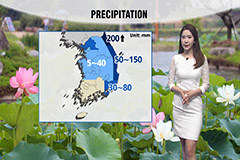 Monsoonal rain until tomorrow morning…200mm expected in Gangwon-do
