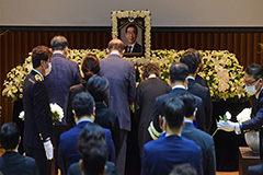 Seoul holds late Seoul mayor Park Won-soon's funeral online amid virus concerns
