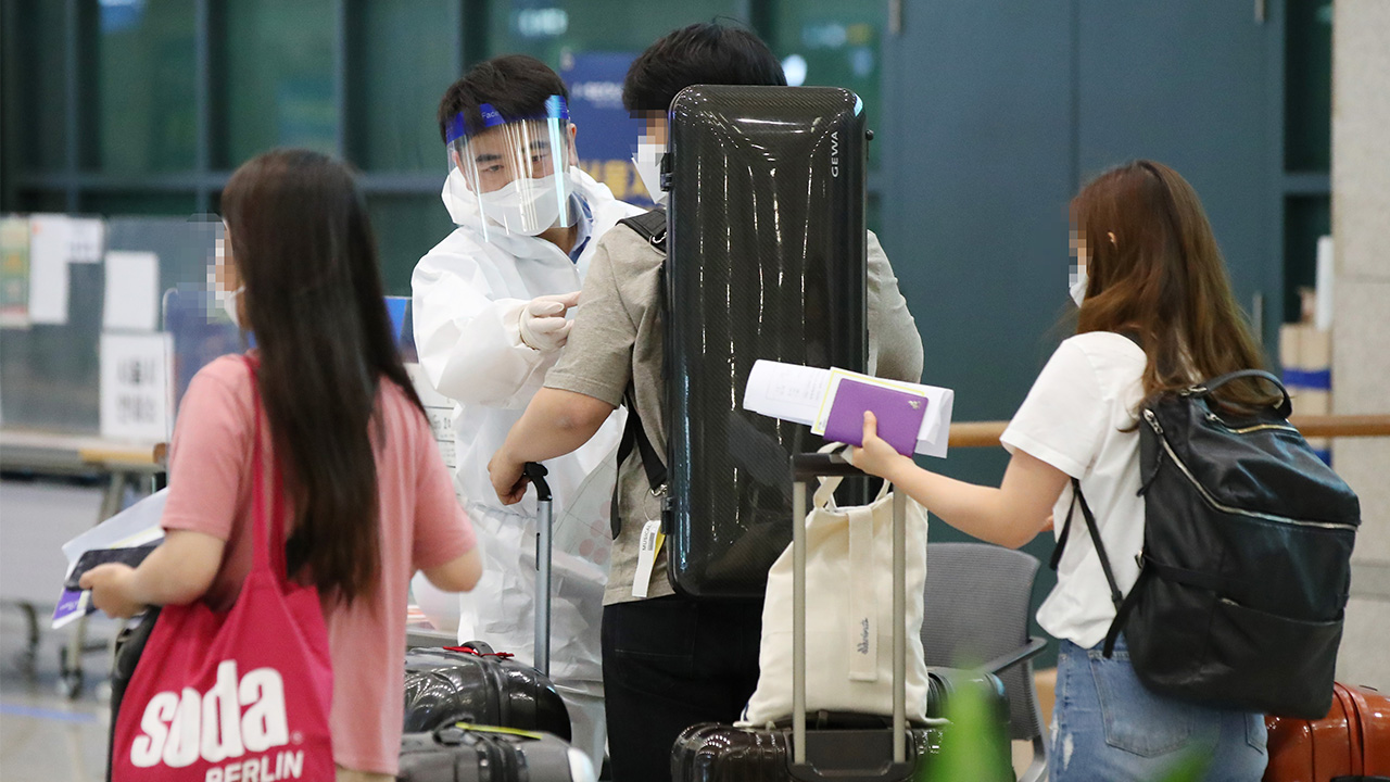 Sharp increase in imported COVID-19 cases put S. Korea on high alert