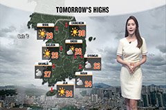 Rain to ease by tonight…sweltering heat to return