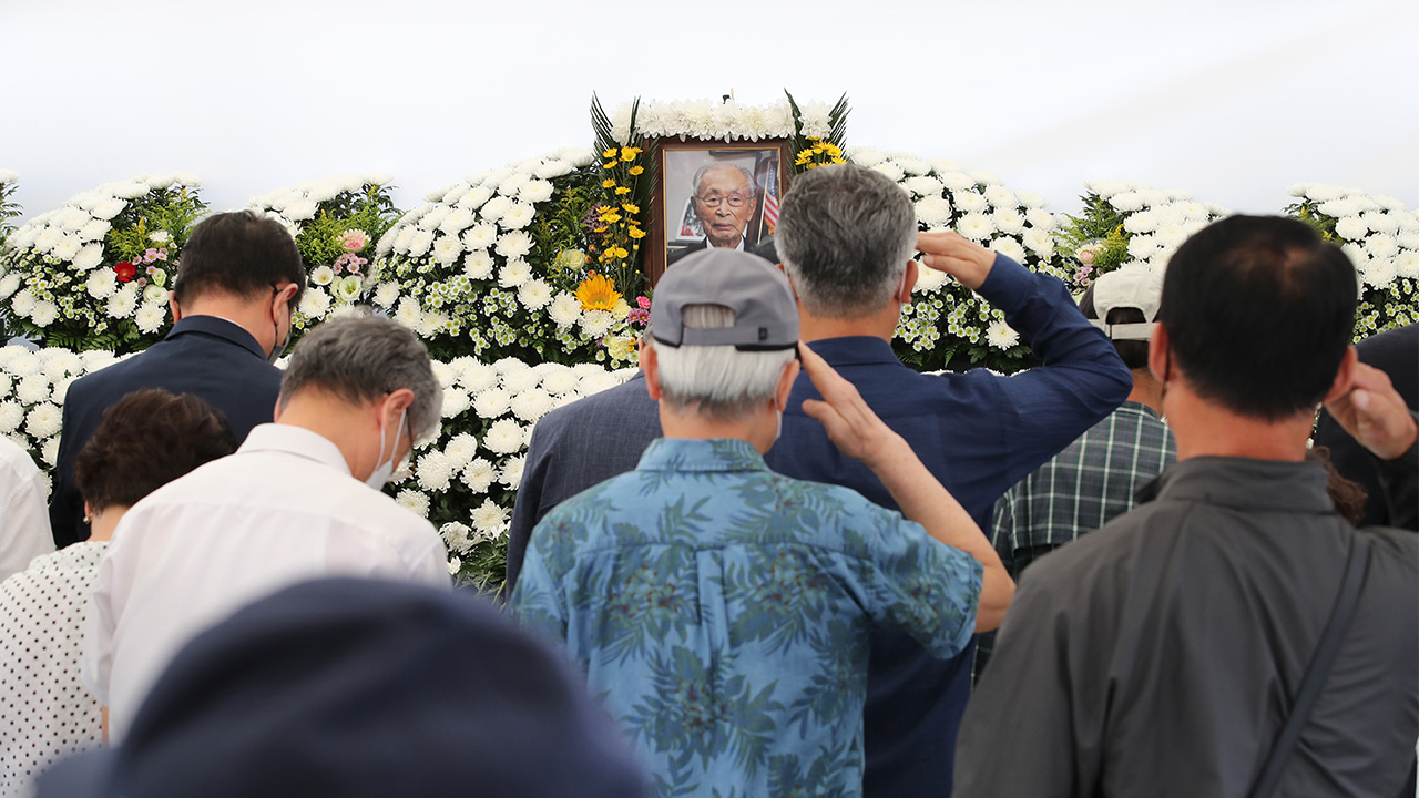 S. Korea's highly-decorated military figure Paik Sun-yup to be laid at rest at Daejeon National Cemetery