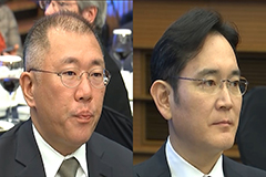Samsung Electronics vice chairman discusses EV batteries with Hyundai Motor counterpart