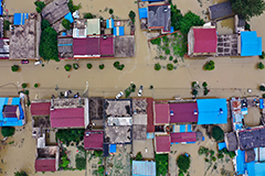 More than 54.8 million people affected by flooding in China